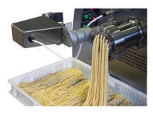 Presses pour production de  pâtes extrudées