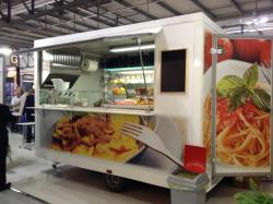 Food truck spécial pâtes