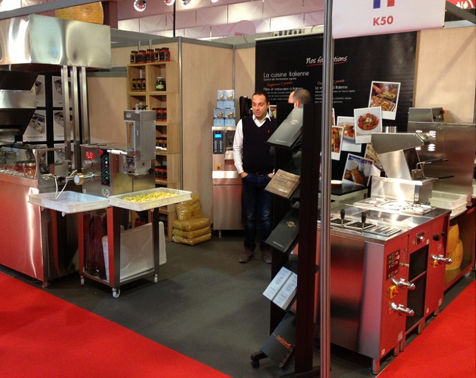 Salon european sandwich snack show parizza infopasta for Salon sandwich and snack show